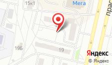 Апартаменты На Победы 17а на карте