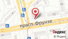 Апартаменты на Фрунзе на карте