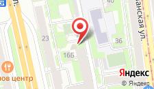 Отель МДК на карте