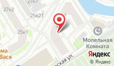 Апартаменты на Смоленке на карте