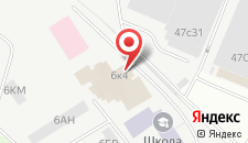 Гостиница Нива-СВ на карте