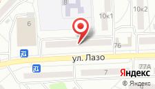 Апартаменты Флат на Лазо на карте