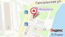 Гостиница Аннушка на карте