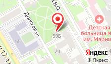 Отель 15 Линия на карте