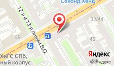 Мини-гостиница Саквояж на карте