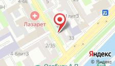 Хостел Якорь и Штурвал на карте