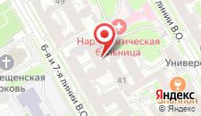 Хостел Смоленка HOUSE на карте