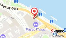 Отель Кортъярд Марриотт Васильевский на карте