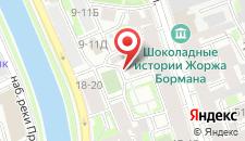 Отель Литали на карте