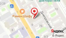 Отель Сокос Васильевский на карте