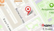 Мини-отель Таврический сад на карте