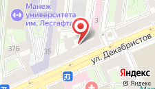 Отель Samsonov on Dekabristov на карте