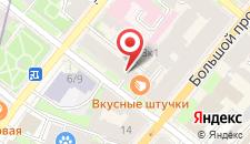Хостел Сонетт Регата на карте