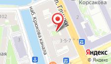 Гостиница Rinaldi у Мариинского театра на карте