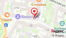 Мини-отель Сонетт на карте