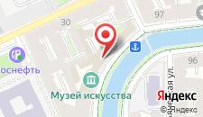 Гостиница История на Грибоедова на карте