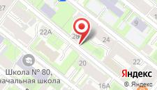 Гостиница Регина на карте