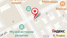 Отель Антре на карте