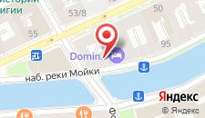 Отель Домина Престиж Санкт-Петербург на карте