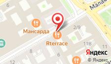 Отель Ренессанс Балтик на карте