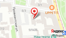 Гостиница Rinaldi у Петропавловской на карте