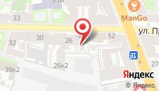 Гостиница Попов на карте