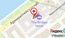 Отель Петровская пристань на карте