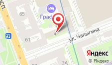 Отель Андерсен на карте