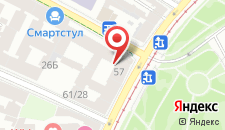 Гостиница Северный модерн на карте