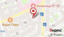 Мини-отель Пальмира на Декабристов 4 на карте