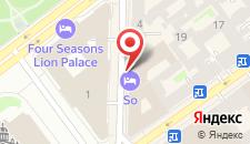 Отель W Санкт-Петербург на карте