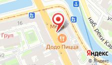 Отель Стоуни Айлэнд на карте