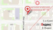 Мини-отель Мумий Тролль на карте