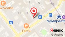 Гостиница Соло Адмиралтейская на карте