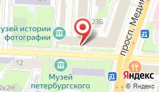 Отель Гайот на карте