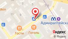 Мини-отель Акме на Малой Морской на карте