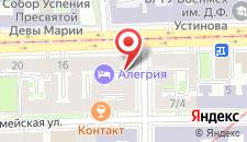 Мини-отель Алегрия на карте