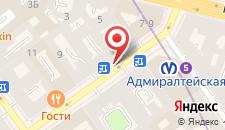 Отель Амулет на карте
