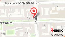 Гостиница Rinaldi Olympia на карте