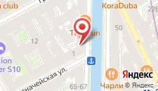 Гостиница Дом Достоевского на карте