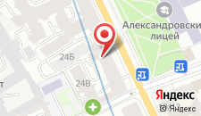 Отель Алекс Отель на Каменноостровском на карте