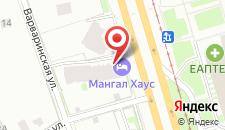 Отель Озерки на карте