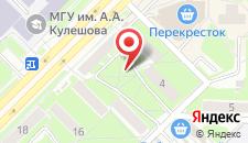 Апартаменты На улице Космонавтов на карте
