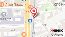 Гостевой дом на Московском на карте