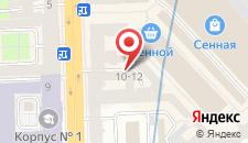 Гостиница Дом Вяземской на карте