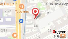 Гостиница Samsonov Hotel on Moskovsky на карте