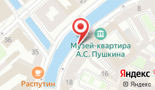 Отель Пушка Инн на карте