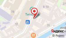 Отель Мэрибель на карте