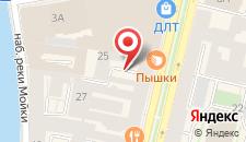 Отель Невский Астер на карте