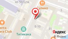 Хостелы Рус на Казанской на карте